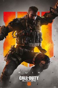 Plakat z bohaterem Call of Duty: Black Ops 4