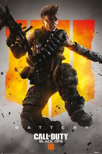Plakat gamingowy Call of Duty: Black Ops 4 Battery