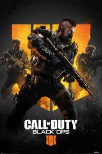 Poster z postaciami z gry Call of Duty: Black Ops 4