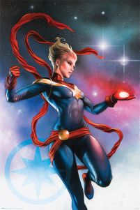 Poster z Captain Marvel
