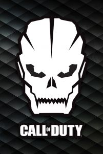 Call Of Duty Skull - plakat dla gracza