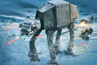 Star Wars AT-AT Attack - plakat 91,5x61 cm
