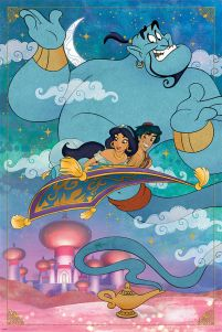 Aladdin A Whole New World - plakat 61x91,5 cm