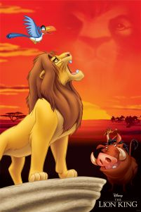 The Lion King King of Pride Rock - plakat 61x91,5 cm