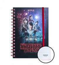 Stranger Things - notes A5 z bohaterami serialu