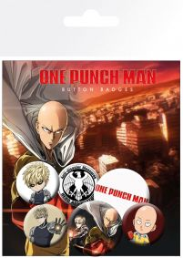 One Punch Man Mix - przypinki