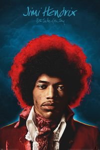 Jimi Hendrix Both Sides of the Sky - plakat