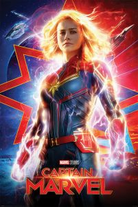 Captain Marvel Higher, Further, Faster - plakat