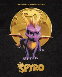 Spyro Golden Dragon - plakat