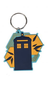 Doctor Who Tardis Shapes - brelok