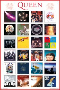 Queen Covers - plakat
