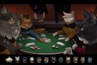 Star Trek Cats Poker - plakat