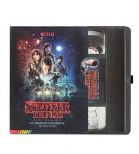 Stranger Things VHS - notes A5