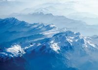 Snowy Mountains - plakat