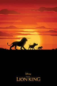 The Lion King Long Live The King - plakat
