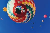 Balloon Rally - plakat 91x61,5 cm