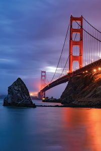 Golden Gate Bridge - plakat 61x91,5 cm