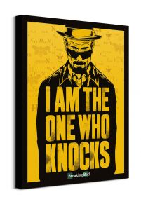 Breaking Bad I Am the One Who Knocks - obraz na płótnie