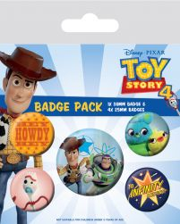 Toy Story 4 Friends for Life - przypinki