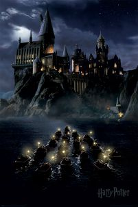 Harry Potter Hogwarts Boats - plakat