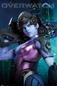 Plakat z gry Overwatch Widow Maker