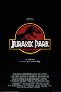 Plakat Z Logo Filmu Jurassic Park