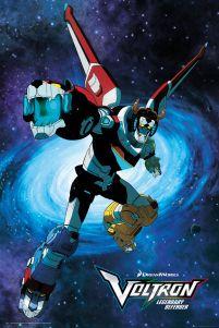 Plakat Z Serialu Animowanego Voltron Legendary Defender