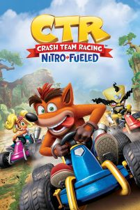 Crash Team Racing Race - plakat