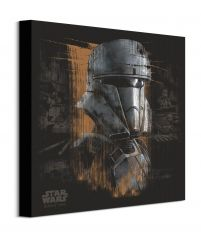 Canvas Rogue One Tank Trooper Black z filmu Star Wars