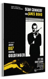 Sean Connery na obrazie z filmu James Bond Goldfinger
