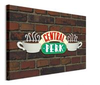 Friends Central Perk Brick - obraz na płótnie