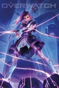 Overwatch Sombra Plakat