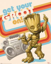 Guardians of the Galaxy Vol. 2 Get Your Groot On - plakat