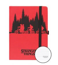 Stranger Things Upside Down - notes A5
