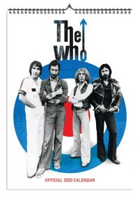 The Who - kalendarz A3 na 2020 rok