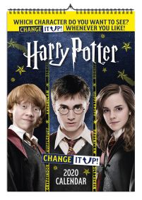 Harry Potter - kalendarz A3 na 2020 rok
