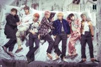 BTS Bed - plakat