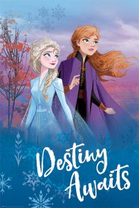 Frozen 2 Destiny Awaits - plakat