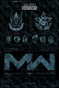 Call of Duty: Modern Warfare - plakat