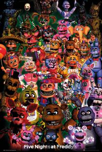 Five Nights at Freddy's Ultimate Group - plakat