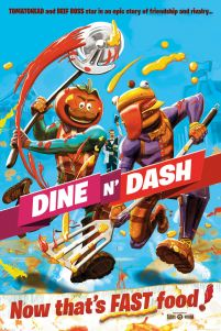 Fortnite Dine N Dash - plakat