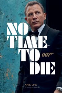James Bond No Time To Die - plakat