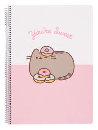 Pusheen - notes A4