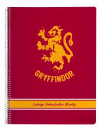 Harry Potter Gryffindor - notes A4