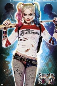 Suicide Squad Harley Quinn Daddys Lil Monster - plakat
