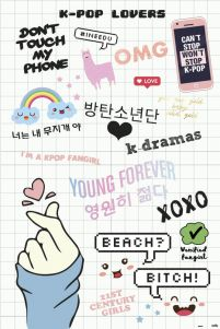 K Pop Lovers - plakat