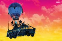 Fortnite Battle Bus - plakat