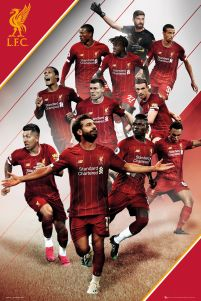 Liverpool Players 19-20 - plakat