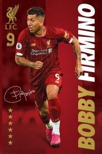 Liverpool FC Bobby Firmino - plakat