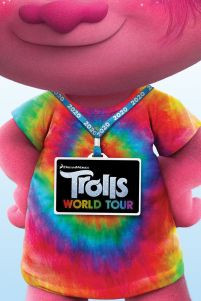 Trolls World Tour Backstage Pass - plakat